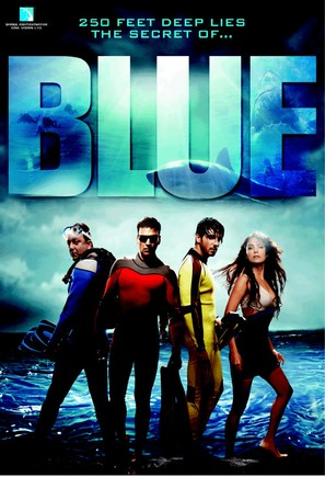 Blue - Indian Movie Poster (thumbnail)