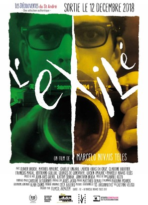 L'exilé - French Movie Poster (thumbnail)