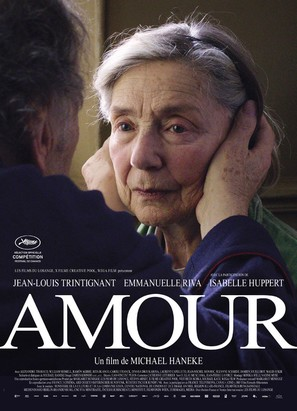 Amour - French Movie Poster (thumbnail)