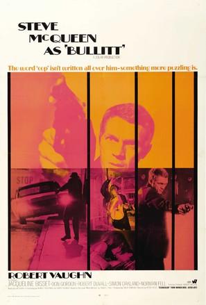 Bullitt - Movie Poster (thumbnail)