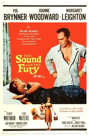 The Sound and the Fury - Theatrical movie poster (thumbnail)