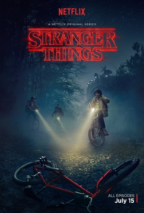 """Stranger Things"" - Movie Poster (thumbnail)"