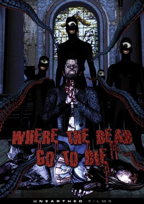 Where the Dead Go to Die - DVD movie cover (thumbnail)