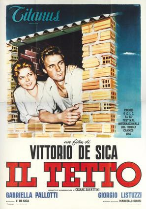 Il tetto - Italian Movie Poster (thumbnail)