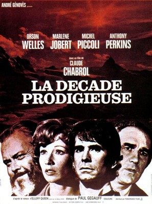 La décade prodigieuse - French Movie Poster (thumbnail)