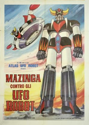 Gurendaizâ, Gettâ Robo jî, Gurêto Majingâ - Kessen! Daikaijû - Italian Movie Poster (thumbnail)