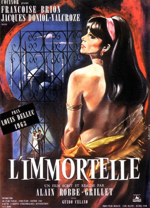 L'immortelle - French Movie Poster (thumbnail)