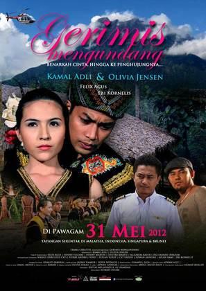 Gerimis Mengundang - Malaysian Movie Poster (thumbnail)