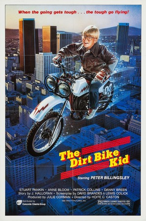 The Dirt Bike Kid - Movie Poster (thumbnail)