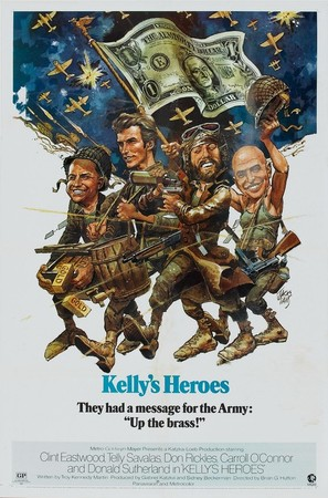 Kelly's Heroes - Movie Poster (thumbnail)