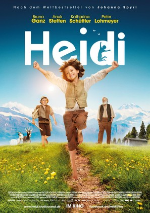 Heidi - German Movie Poster (thumbnail)