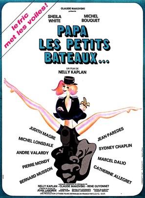 Papa, les petits bateaux - French Movie Poster (thumbnail)