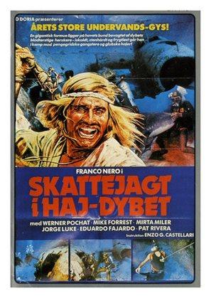Cacciatore di squali, Il - Danish Movie Poster (thumbnail)