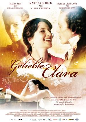 Geliebte Clara - German Movie Poster (thumbnail)