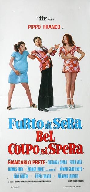 Furto di sera bel colpo si spera - Italian Movie Poster (thumbnail)