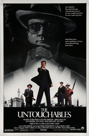 The Untouchables - Movie Poster (thumbnail)