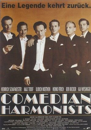 Comedian Harmonists - German Movie Poster (thumbnail)