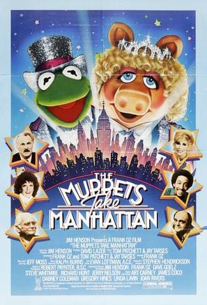 The Muppets Take Manhattan - Movie Poster (thumbnail)
