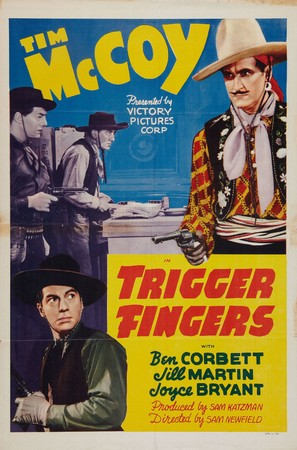 Trigger Fingers - Movie Poster (thumbnail)