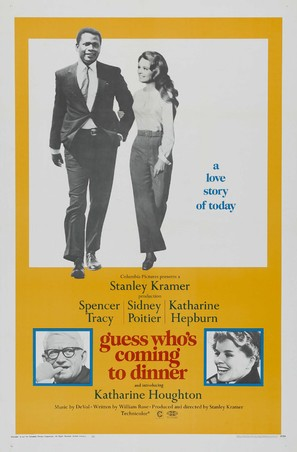 Guess Who's Coming to Dinner - Theatrical movie poster (thumbnail)
