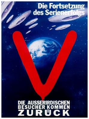 """V"" - German Movie Poster (thumbnail)"