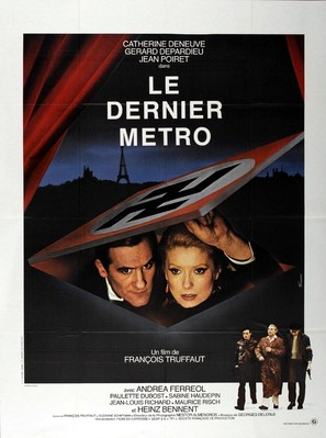Le dernier métro - French Movie Poster (thumbnail)