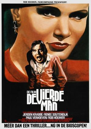 De vierde man - Dutch Movie Poster (thumbnail)