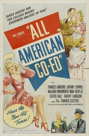 All-American Co-Ed - Movie Poster (thumbnail)