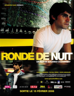 Ronda nocturna - French Movie Poster (thumbnail)