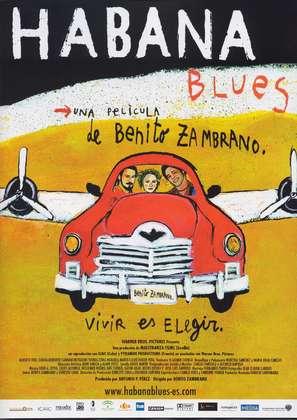 Habana Blues - Spanish Movie Poster (thumbnail)
