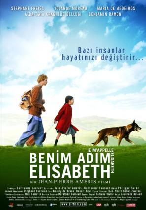 Je m'appelle Elisabeth - French poster (thumbnail)
