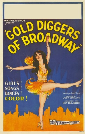 Gold Diggers of Broadway - Movie Poster (thumbnail)