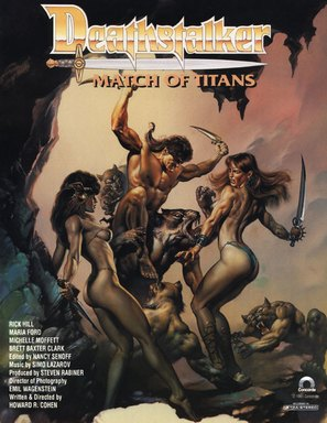 Deathstalker IV: Match of Titans - Movie Poster (thumbnail)