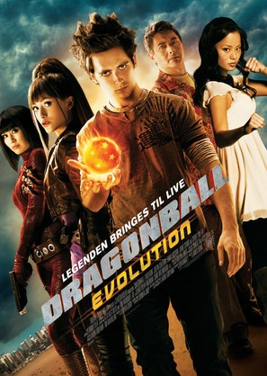 Dragonball Evolution - Theatrical poster (thumbnail)
