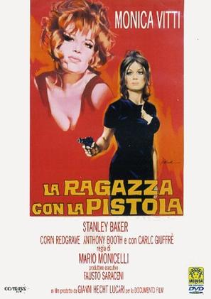 La ragazza con la pistola - Italian DVD movie cover (thumbnail)
