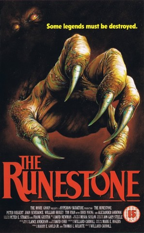 The Runestone - British Movie Cover (thumbnail)