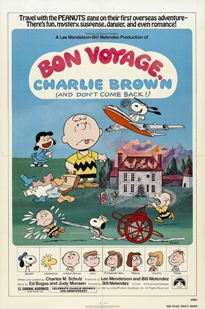 Bon Voyage, Charlie Brown (and Don't Come Back!!) - Movie Poster (thumbnail)