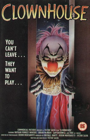 Clownhouse - British VHS movie cover (thumbnail)