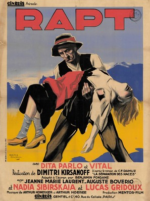 Rapt - French Movie Poster (thumbnail)