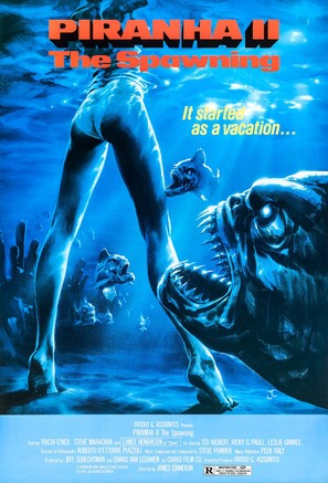 Piranha Part Two: The Spawning - Movie Poster (thumbnail)