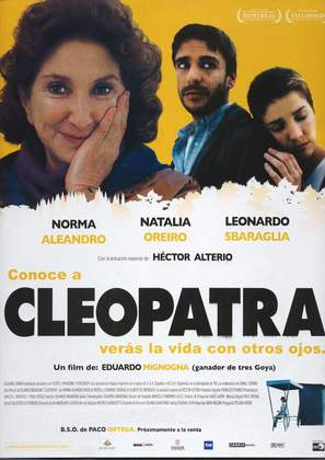 Cleopatra - Spanish Movie Poster (thumbnail)