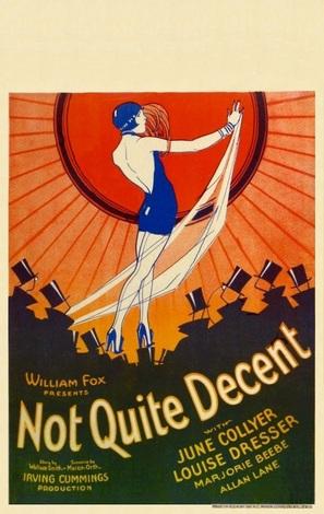 Not Quite Decent - Movie Poster (thumbnail)