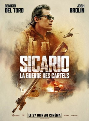 Sicario: Day of the Soldado - French Movie Poster (thumbnail)