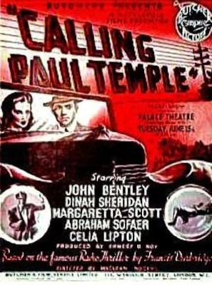 Calling Paul Temple - British Movie Poster (thumbnail)