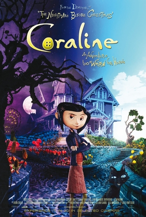 Image result for coraline movie poster