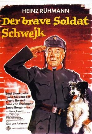 Brave Soldat Schwejk, Der - German Movie Poster (thumbnail)