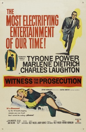 Witness for the Prosecution - Movie Poster (thumbnail)