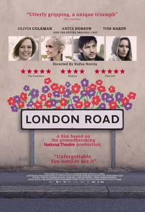 London Road - British Movie Poster (thumbnail)