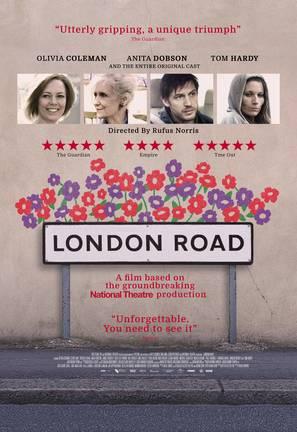 London Road - British Movie Poster (thumbnail)