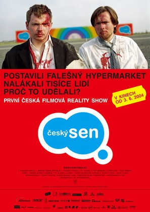 Ceský sen - Czech Movie Poster (thumbnail)